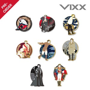 [PRE-ORDER] 빅스 레오(VIXX LEO) - 1st FANMEETING [All of me] - 금속 뱃지_8 types (METAL BADGE)